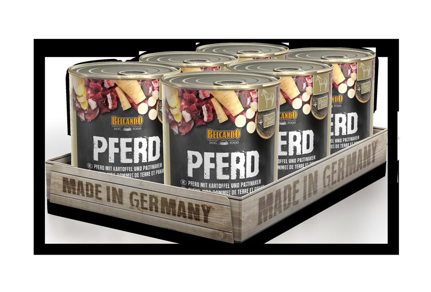BELCANDO® Pferd mit Kartoffel (6 x 800 g)