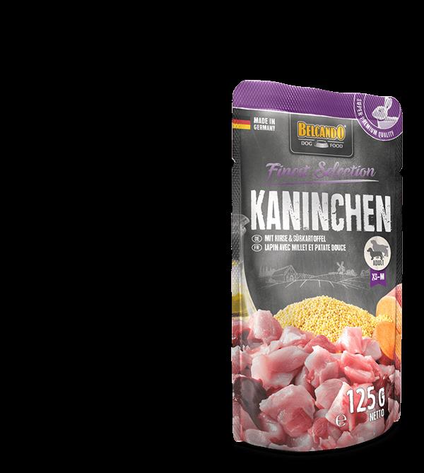 Belcando-Pouch-Kaninchen-Composing